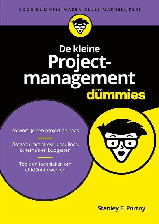 Voor Dummies - De kleine Projectmanagement voor Dummies - Stanley E. Portny pdf epub