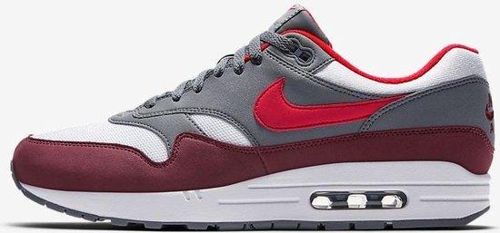 bol.com | Nike Air Max 1 - Wit / Rood - Maat 43