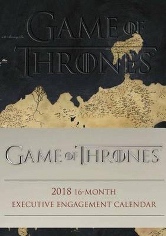 Game of Thrones 16-Maanden Agenda 2018