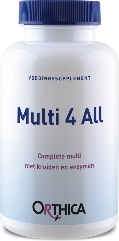 Orthica Multi 4 All Complete Multivitaminen -  90 Tabletten