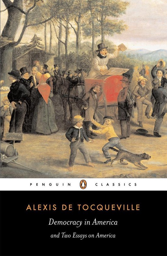 Boek cover Democracy in America van Alexis Tocqueville (Onbekend)