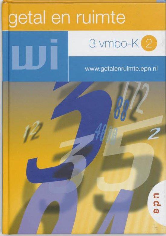 Getal en Ruimte / 3 vmbo-k 2 - L.A. Reichard  