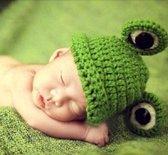 Kikkermuts voor een baby