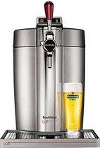 KRUPS bierbrouwer Beertender - VB700E00 - Compatibele 5L vaten - Chrome