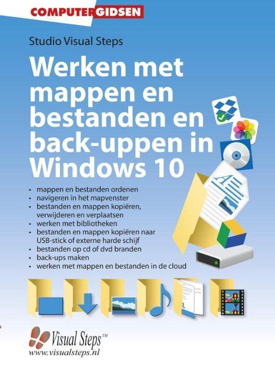 Werken met mappen en bestanden en back-uppen in Windows 10 - Studio Visual Steps |