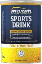 2x Maxim Sports Drink fresh Lemon 480g