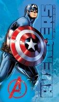 Marvel Avengers Force - Strandlaken - 70 x 120 cm - Blauw