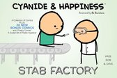 Omslag Cyanide & Happiness: Stab Factory