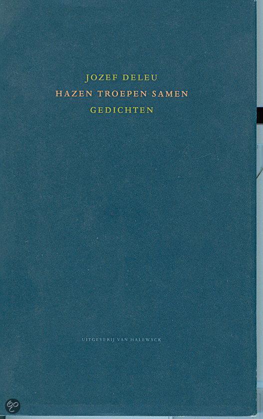Cover van het boek 'Hazen troepen samen' van Jozef Deleu