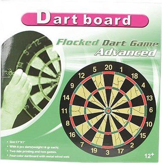 Afbeelding van het spel Flocked Dart Game Advanced - Dartbord