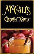 McCall's Candles 6 Candle Bars Mulled Apple Cider