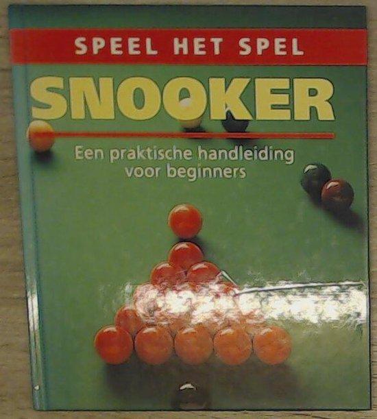 Snooker (speel het spel) - Wybrand Scheffer |