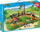 PLAYMOBIL City Life SuperSet Hondenschool - 6145