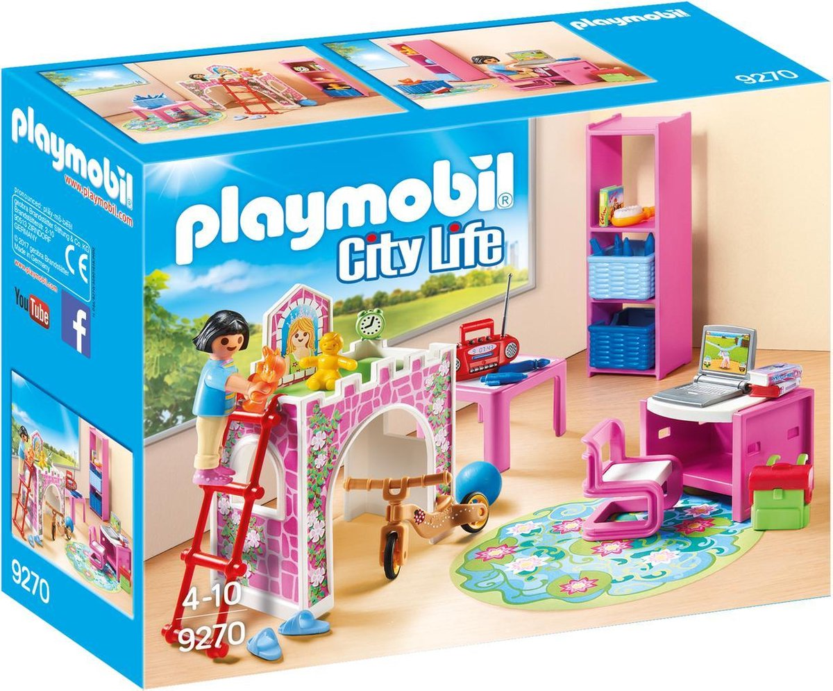 PLAYMOBIL City Life Kinderkamer met hoogslaper - 9270