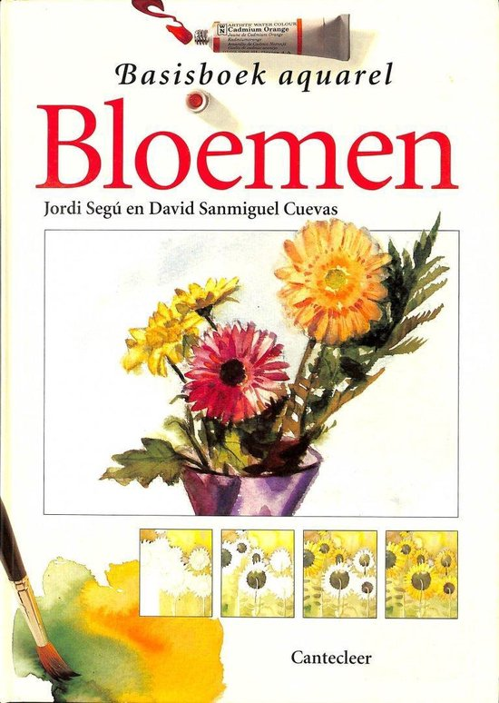 Basisboek aquarel - Bloemen - David Cuevas Sanmiguel |