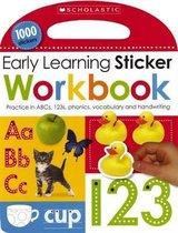 Boek cover Early Learning Sticker Workbook van Scholastic