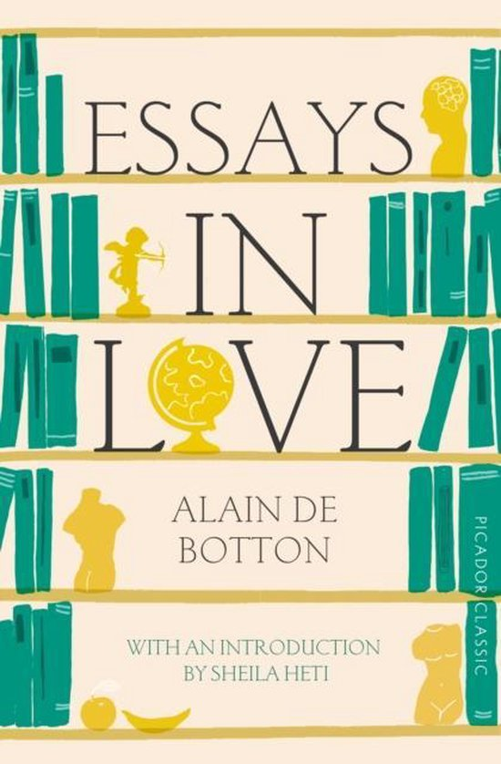 Boek cover Essays In Love van Alain de Botton (Paperback)