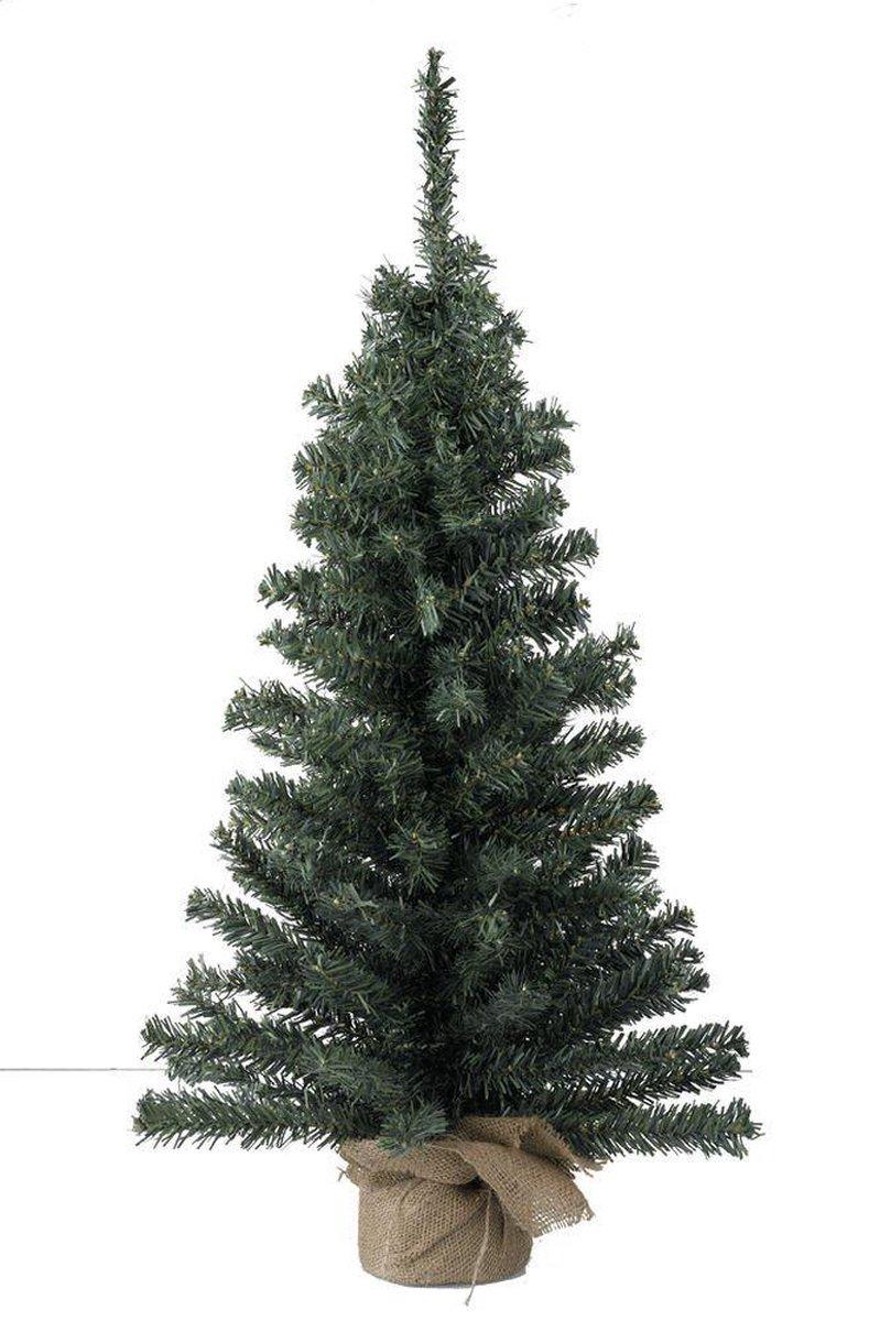 Mini Kerstboom In Jute Zak - 45 cm