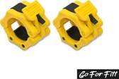 Jaw Collar Set - Sluitklem - Haltersluiting - Olympische sluiters 50 mm - Barbell lock - Go For Fitt