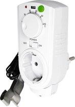 EcoSavers - Thermo Switch Temperatuur Schakelaar - Speciaal voor pomp vloerverwarming - Energiebesparende schakelaar
