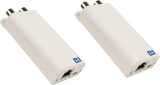 Hirschmann INCA 1G white SET SHOP - Multimedia over coax adapter, 1000Mbps,...