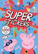 Boek cover Peppa Pig Super Stickers Activity Book van Peppa Pig (Paperback)