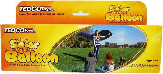 Tedco Toys Solar-ballon 15 Meter Zwart