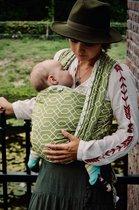 Geweven Draagdoek - Ergonomisch - Maat 6 - Te gebruiken vanaf geboorte - voor op de buik, rug en zij