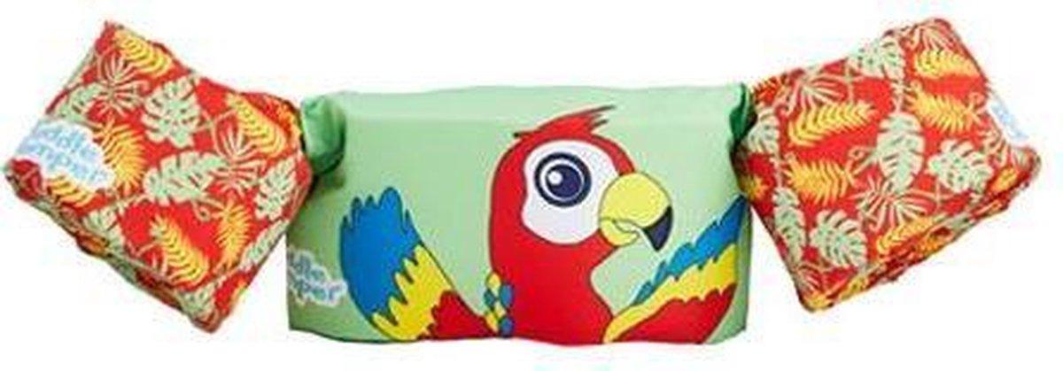 Sevylor Puddle Jumper papegaai| Zwemvest kinderen | zwembad | zwemmouwen | 15 - 30 kg | zwemveiligheid | kindervest | uniseks | dieren
