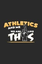 Athletic and me: 6x9 Athletics - dotgrid - dot grid paper - notebook - notes