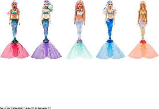 Barbie Color Reveal Wave 4 Zeemeerminnen- Barbiepop