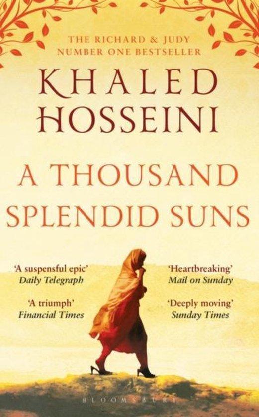 Boek cover A Thousand Splendid Suns van Khaled Hosseini (Paperback)