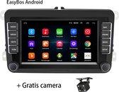 Boscer® Autoradio Android | Volkswagen, Skoda & Seat | Navigatiesysteem | 7' HD scherm | Achteruitrijcamera