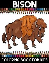 Bison Coloring book for Kids