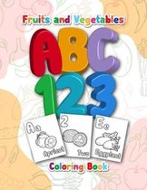 Fruits and Vegetables ABC Coloring Book