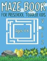 maze book for preschool toddler kids