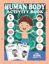 Human Body Activity Book For Kids 4-8