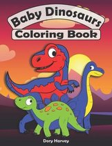 Baby Dinosaurs Coloring Book
