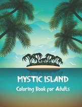 Mystic Island Coloring Book for Adults