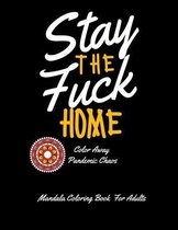Stay Home Coloring Book
