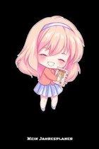 Mein Jahresplaner: Anime Manga Comic Kalender 6x9 A5: Studienplaner - Terminkalender - W�chentliche To-Do-Liste & Ziele - F�r Sch�ler Und