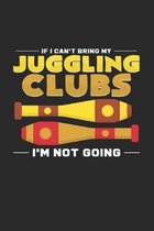 Juggling clubs: 6x9 Juggling - dotgrid - dot grid paper - notebook - notes