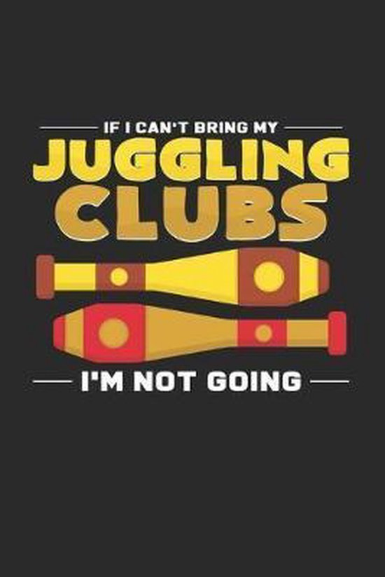 Juggling clubs: 6x9 Juggling - dotgrid - dot grid paper - notebook - notes