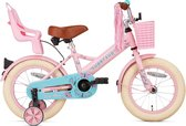 Supersuper Little Miss Kinderfiets -  Meisjes - 14 inch - Roze