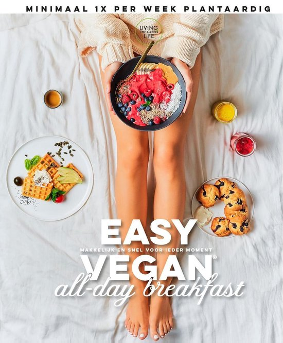 Boek cover Easy Vegan All-day Breakfast van Living The Green Life (Onbekend)