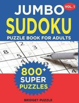 Jumbo Sudoku Puzzle Book For Adults (Vol. 1)