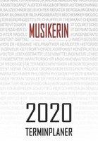 Musikerin - 2020 Terminplaner