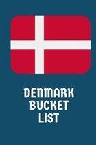 Denmark Bucket List: Novelty Bucket List Themed Notebook