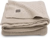 Jollein Ledikant deken Bliss knit 100x150cm - nougat