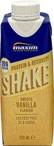 Maxim Protein & Recovery Drink Smooth Vanilla 9 x 250ml